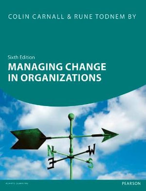 Cover of Managing Change in Organizations