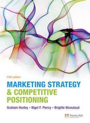 Cover of Marketing Strategy and Competitive Position