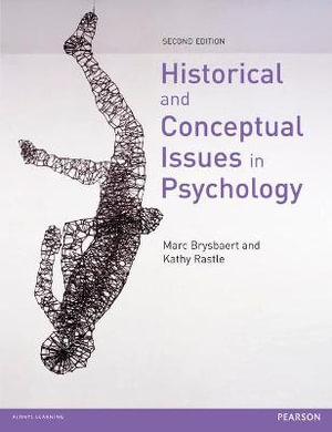 Cover of Historical and Conceptual Issues in Psychology