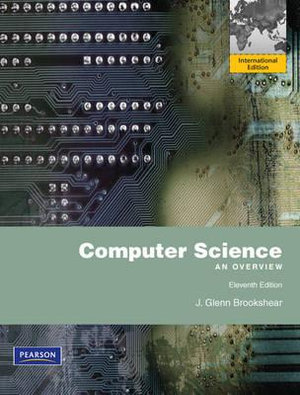 Cover of Computer Science Pearson International Edition Mechanical Version
