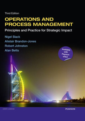 Cover of Operations and Process Management