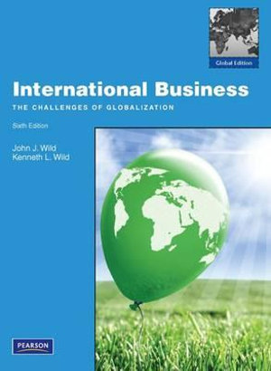 Cover of International Business Pearson International Edition Global Edition