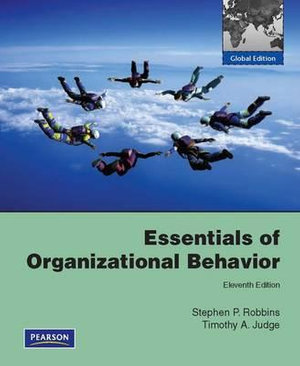 Cover of Essentials of Organizational Behavior Pearson International Edition     Global Edition
