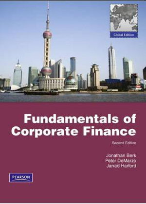 Cover of Fundamentals of Corporate Finance Pearson International Edition         Global Edition