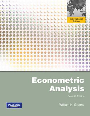 Cover of Econometric Analysis