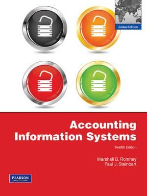 Cover of Accounting Information Systems (Pearson International Edition)