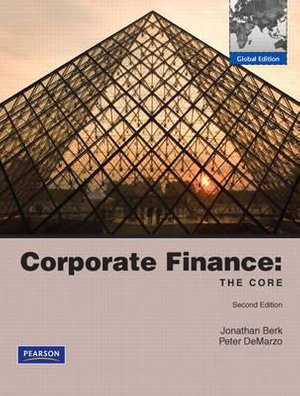 Cover of Corporate Finance: Core Pie Global Ed