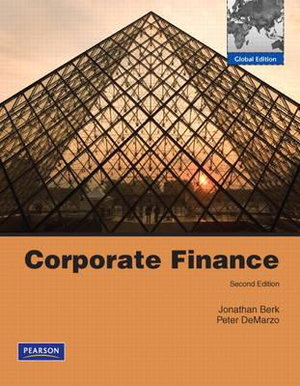 Cover of Corporate Finance: Global Edition Pearson International Edition