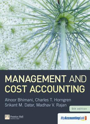 Cover of Management and Cost Accounting
