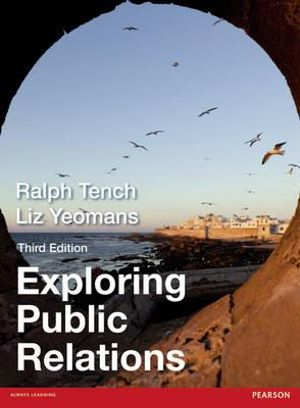 Cover of Exploring Public Relations 3e