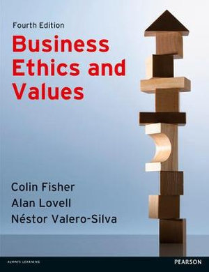 Cover of Business Ethics and Values