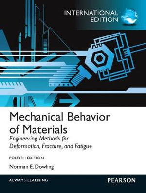 Cover of Mechanical Behavior of Materials