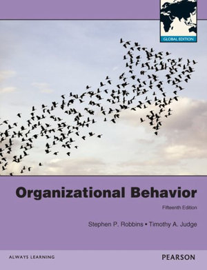 Cover of Organizational Behavior Pearson International Edition Global