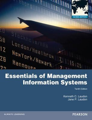 Cover of Essentials of MIS Global Pearson International Edition