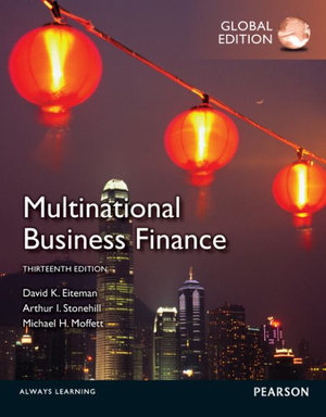 Cover of Multinational Business Finance Pearson International Edition Global
