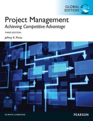 Cover of Project Management: Achieving Competive Advantage Pearson International Edition Global