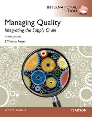 Cover of Managing Quality: Integrating the Supply Chain Pearson International    Edition Mechanical