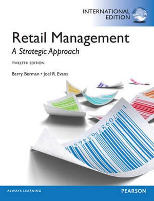 Cover of Retail Management: A Strategic Approach Pearson International Edition   Mechanical