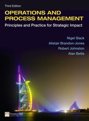 Cover of Operations and Process Management with EText