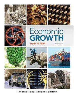 Cover of Economic Growth Pearson International Edition Mechanical