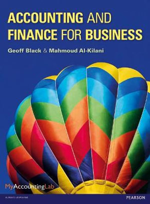 Cover of Accounting and Finance for Business