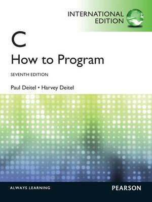 Cover of C : how to Program