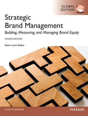 Cover of Strategic Brand Management Pearson Global Edition Global