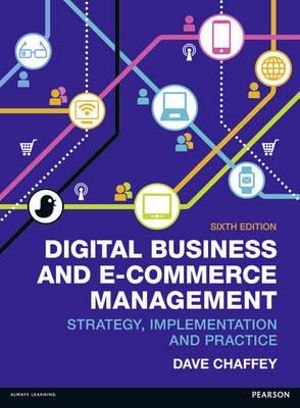 Cover of Digital Business and E-Commerce Management
