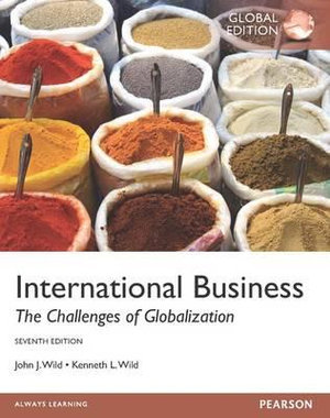Cover of International Business Pearson International Edition Global