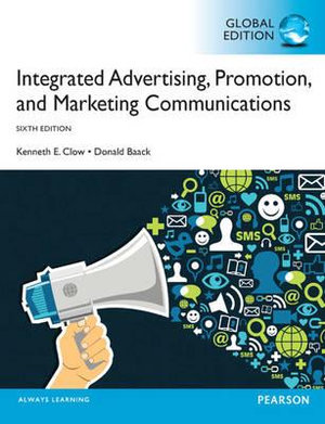 Cover of Integrated Advertising, Promotion and Marketing Communications