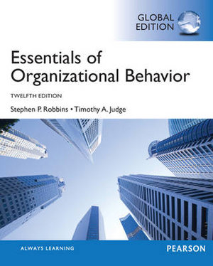 Cover of Essentials of Organizational Behavior