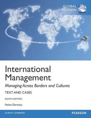 Cover of International Management: Managing Across Borders and Cultures, Text    and Cases Pearson International Edition Global