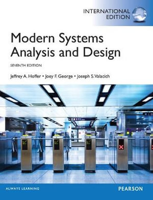 Cover of Modern Systems Analysis and Design