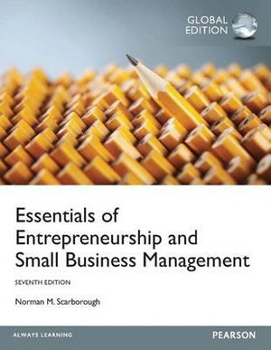 Cover of Essentials of Entrepreneurship and Small Business Management, Global Edition, 7/e