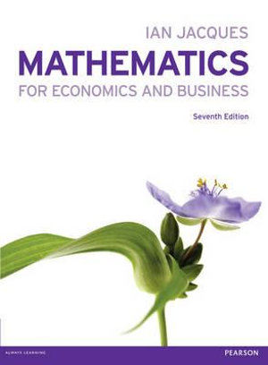 Cover of Maths for Econom & Business W/MyMathLab