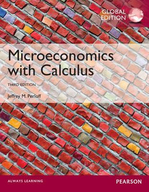 Cover of Microeconomics with Calculus Global Edition