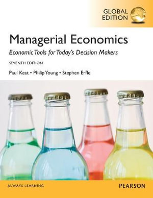 Cover of Managerial Economics, Global Edition