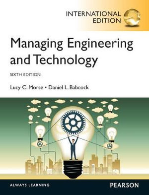 Cover of Managing Engineering and Technology, International Edition