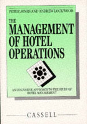 Cover of The management of hotel operations