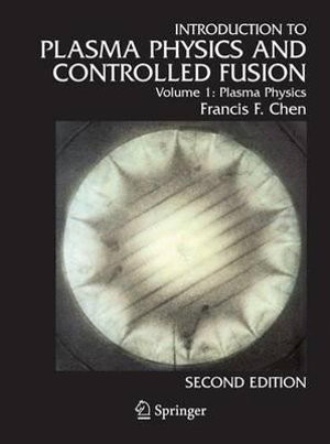 Cover of Introduction to Plasma Physics and Controlled Fusion