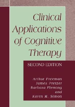 Cover of Clinical Applications of Cognitive Therapy