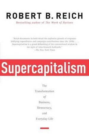Cover of Supercapitalism