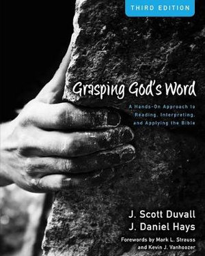 Cover of Grasping God's Word
