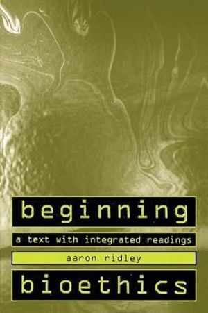 Cover of Beginning Bioethics