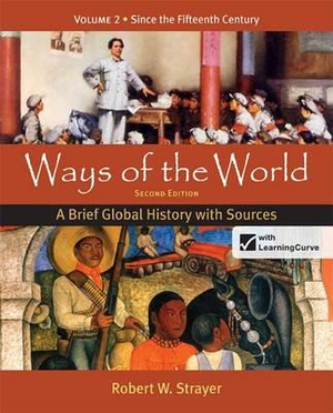 Cover of Ways of the World: A Brief Global History with Sources