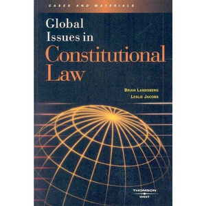 Cover of Global issues in constitutional law