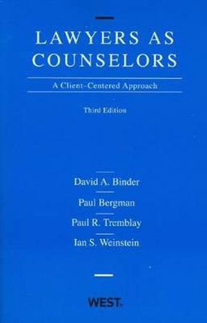 Cover of Lawyers as Counselors