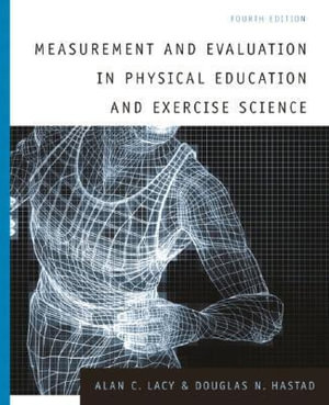 Cover of Measurement and Evaluation in Physical Education and Exercise Science