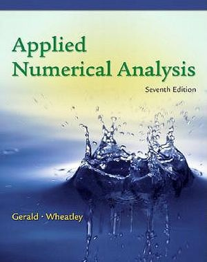 Cover of Applied Numerical Analysis