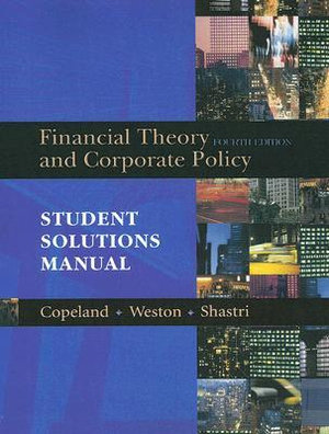 Cover of Financial Theory and Corporate Policy